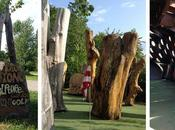 Stone Mini Golf Sculpture Garden... Awesome Destination Whole Family!