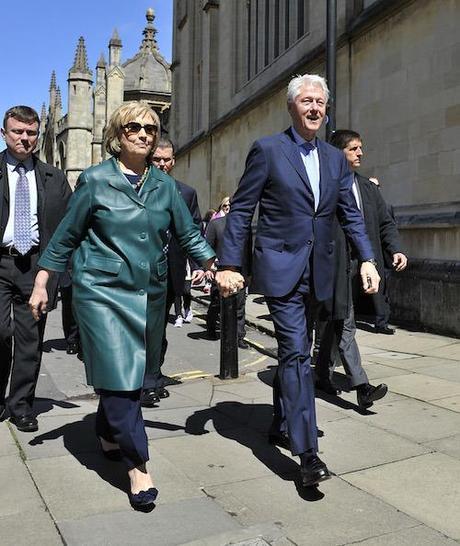 Chelsea Clinton Graduates From Oxford University, Britain - 10 May 2014
