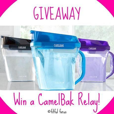 CamelBak Relay Giveaway via Fitful Focus @fitfulfocus #fitfulfocusgiveaways