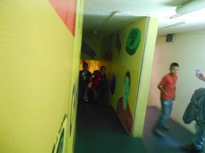 Players tunnel.
