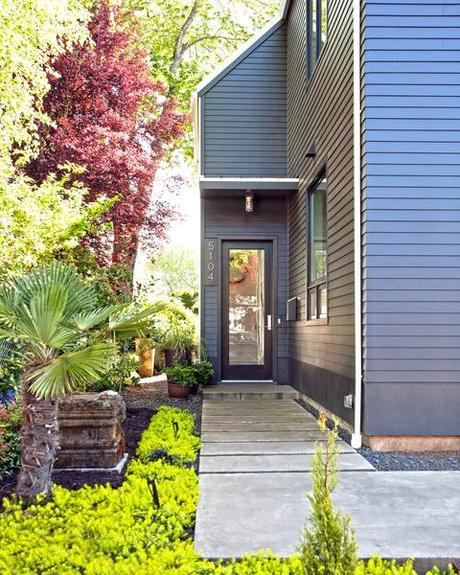 Modern gabled house in portland paperblog for Modern house portland