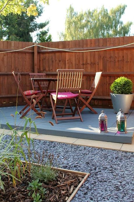small garden makeover on a budget paperblog On garden makeover ideas on a budget