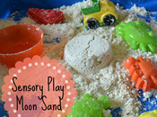 Sensory Play: Scented Moon Sand