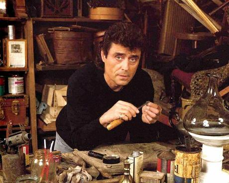 ian mcshane is the lovable rascal lovejoy (and might just teach you a thing or two about antiques)