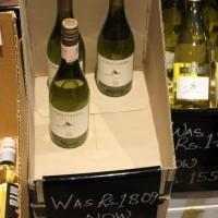 Sales on Chilean wine