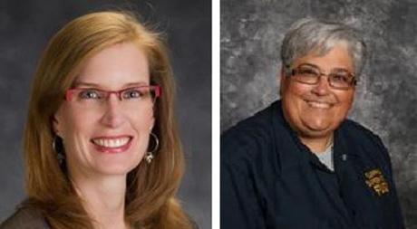 Lara Calvert-York (l); Michele Hartmangruber (r)