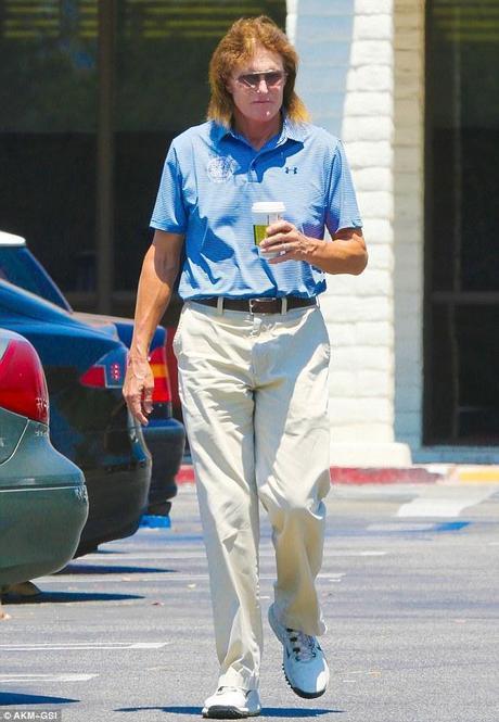 Bruce Jenner bad fashion after golf game in Calabasas ca womens fashion mens fashion celebrity fashion
