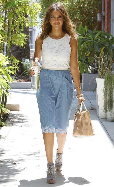 jessica alba los angeles america august 2014 womens fashion mens fashion celebrity fashion