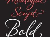 Hand Lettered Montague Script Bold Font Stephen Rapp