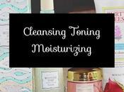 Cleansing Toning Moisturizing Routine Sephora Facial Skincare Haul}