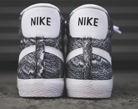 separation shoes bd4a9 e8d52 Nike Blazer Mid PRM Vintage Marble Mesh Sneaker QS