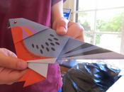 FOLD FLOCK: Passenger Pigeon Origami Project