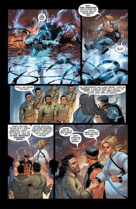 Valiant Previews: Delinquents, Bloodshot, Harbinger!