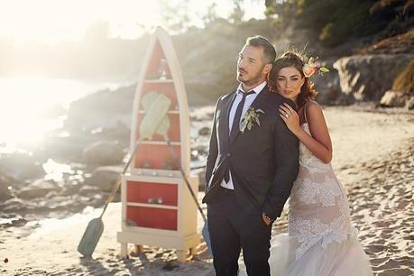 California Destination Wedding Bride and Groom_Laguna Beach