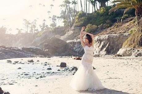 Laguna beach Bride photoshoo