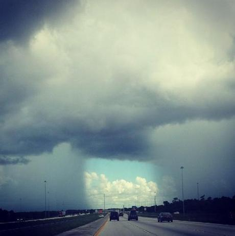 storm clouds over FL, July 2014