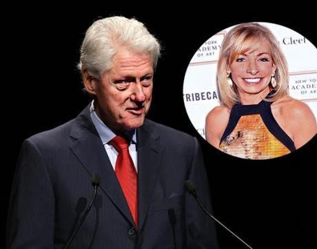 Bill Clinton & Julie Taubor McMahon