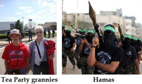 Tea Party vs. Hamas