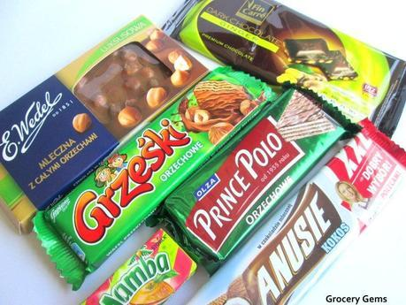 Chocolate Reviews: E.Wedel Whole Hazelnuts & Fin Carré Dark Chocolate Ginger