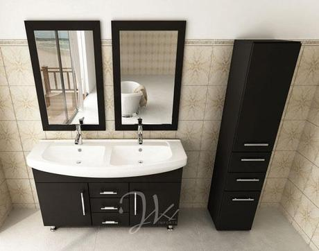 48 Celine Double Vanity from JWH Imports
