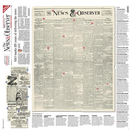 News & Observer turns 125: faithful readers join the celebration