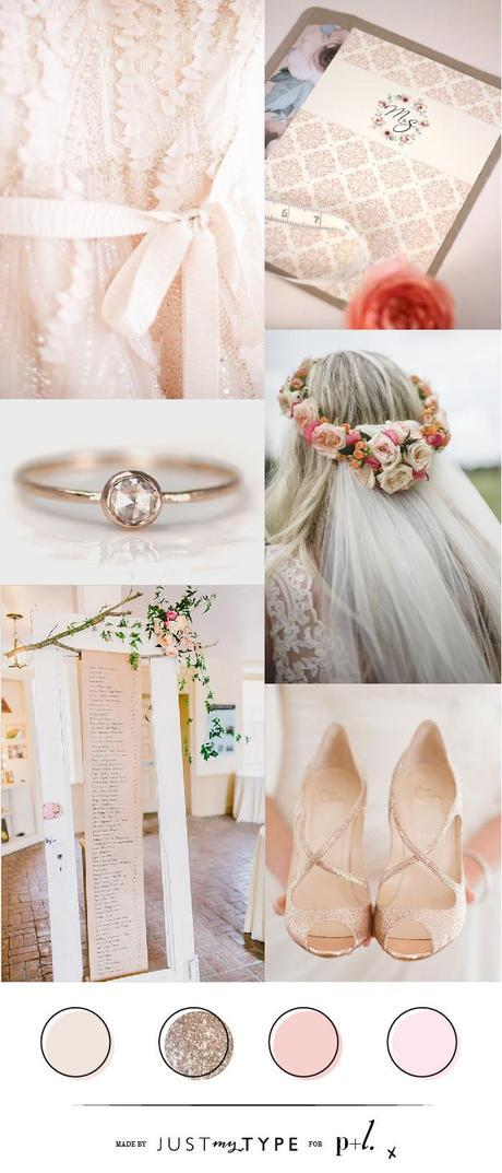 Just My Type for P&L Wedding Inspiration Board Peach & Blush-01