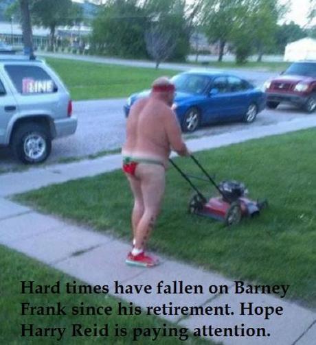 nude lawnmower