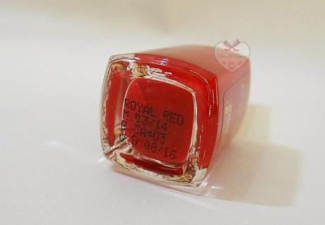 Oriflame Giordani Gold Lacquer Brilliance Royal Red