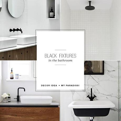 Bathroom Black Faucet 6