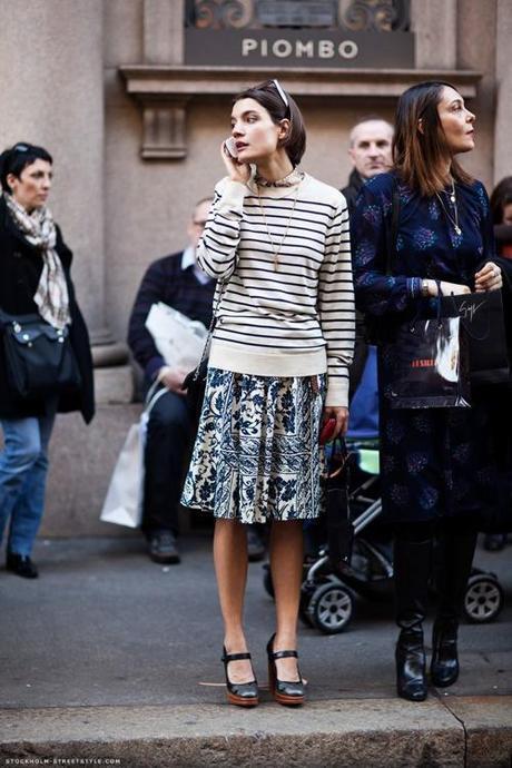 stripe-sweater-floral-skirt-stockhom-street-style