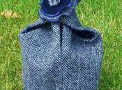 Reversible #Tweed Knot Bags