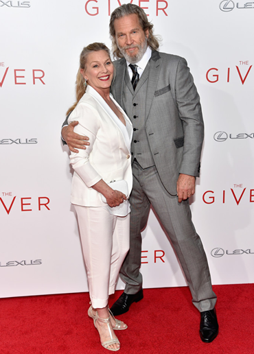 jeff bridges at nyc premier of the giver film mens fashion