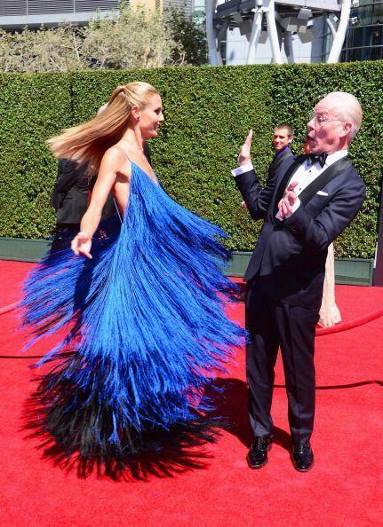 2014 Creative Emmy Awards August 2014 heidi klum and tim gunn mens fashion
