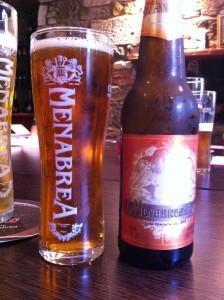 menabrea amber 224x300 Review   Menabrea Italian Beer