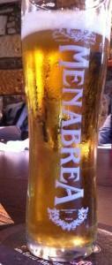 menabrea lager 127x300 Review   Menabrea Italian Beer