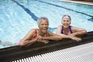 Old Ladies Swimming