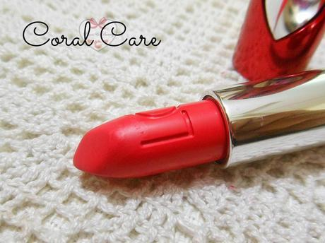 Lakme Lip Love Lipstick Coral Care: Review, Swatch