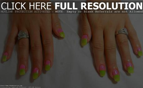 Neon pink and green nail designs best image nail 2017 neon pink and green nail art designs paper prinsesfo Image collections