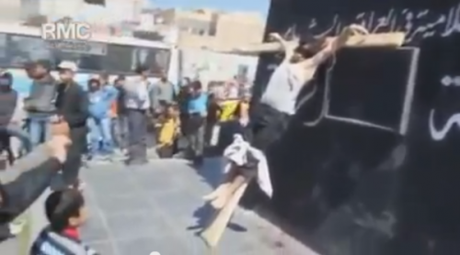 christians-crucified-in-syria
