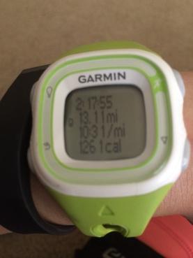 Yesterday's slow training run