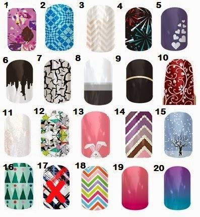 Image: Jamberry Nail Wraps Going, Going, Gone! sale - What's in stock in Adult size