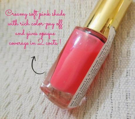 loreal paris color riche le vernis 209 ingenuous rose review - Vernis L Oral Color Riche