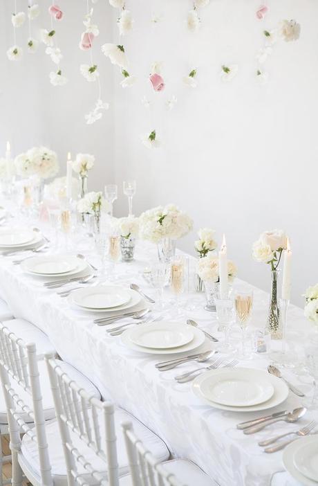 all white wedding inspiration - amanda douglas events16