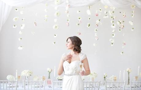all white wedding inspiration - amanda douglas events12