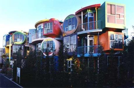 Experimental Japanese buildings 14