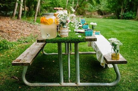 throwing a whimsical woodland bridal shower using my sams club membership