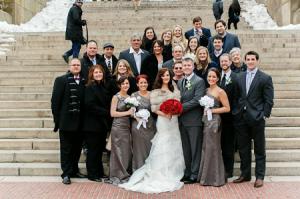 H&M Central Park wedding group