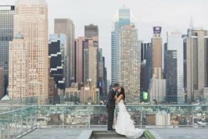 H&M Central Park wedding top rock