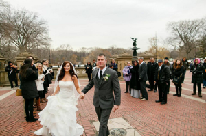 H&M Central Park wedding terrace