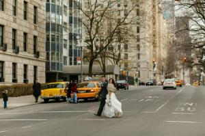 H&M Central Park wedding street